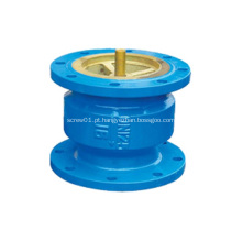 Válvula de retenção silenciosa da extremidade da flange