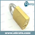 40mm Tri-Circle Solid Brass Padlock with Master Key