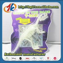 High Quality Plastic Dinosaur Skeleton Glow in The Dark Toy