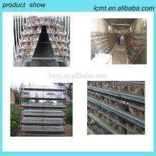 Un système de cage de poulet de batterie de type 3 niveaux
