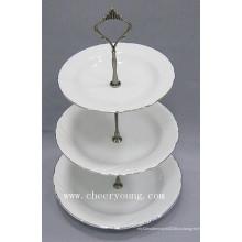 Фарфоровая тарелка (CY-P12488)