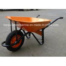 Modelo Africano carrinho de mão Wb6400 França modelo carrinho de mão