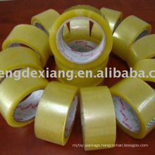 Clear and Brown BOPP adhesive packing tape for carton sealing