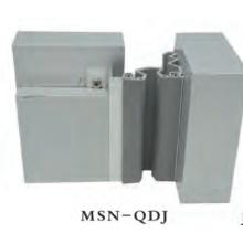 Tecto para parede Alumínio Alloy Base Flexível Cinza Borracha Expansão Joint Cover