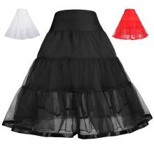 Grace Karin Mädchen zwei Ebenen abgestuft Retro Vintage Kleid Crinoline Underskirt Petticoat 1 ~ 9Years CL010460