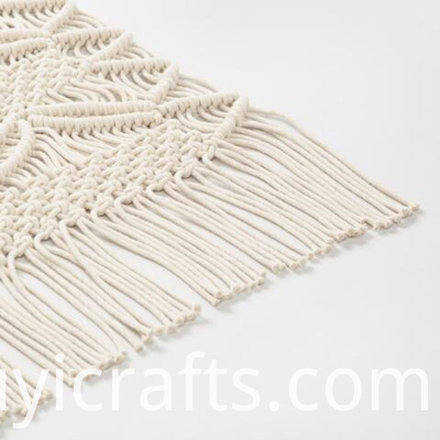 diy large macrame wall hanging