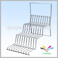 Escalera de alambre de metal jardín flor pantalla estantería