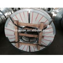 China fabricação quente dip galvanizado aço strip