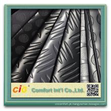 Estofamento de couro sintético do couro do plutônio do pvc do couro da mobília 2016