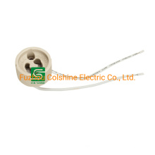 GU10 Ceramic Socket LED Bulb Lamp Holder Wire Connector Socket