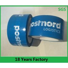 Fita adesiva da embalagem feita sob encomenda clara / transparente de BOPP, fita impressa da selagem da caixa