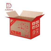 Manufatura profissional design personalizado brown frutas caixa de caixa de maçãs
