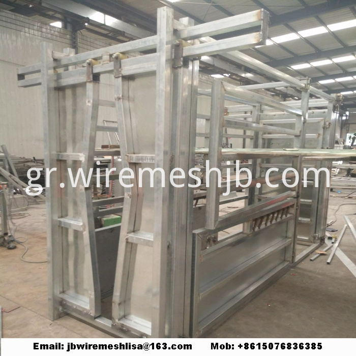 Heavy Duty Hot Dipped Galvanized Cattle Crush
