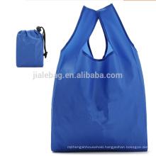 Promotional Reusable Durable Waterproof polyester nylon shopping bag