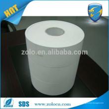 Dropshippers adesivo de vinil ZOLO papel de etiqueta de casca de ovo branco em branco papel de etiqueta de casca de ovo em branco personalizado