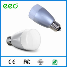 EEO Bluetooth Controle sem fio Multicolor LED Lâmpada 100-240V 6w Smart Lighting