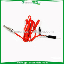 getbetterlife 2014 poder nuevo de silicona clip cable para máquina de tatuaje