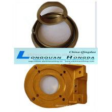 Liga de latão e fundição de cobre