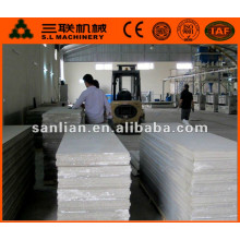 hot sale in China lightweight precast concrete exterior wall panel in cement board machine price for sale