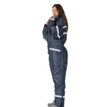 Roupas de inverno unissex azul marinho snowsuit