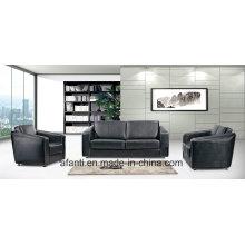 Sofa comercial Sofá secional em couro (RFT-FB-3)