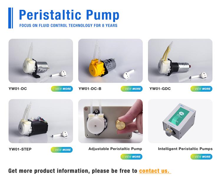 Electric peristaltic mini dispensing chemical pumps 12v dc