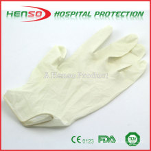 Henso Medical Disposable Pre Powdered Latex examination Gloves