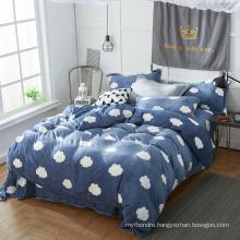 Shop Online Sale Christmas Flannel Bed Sheet Bedding
