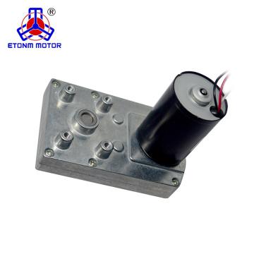 Motor doble de la caja de cambios BLDC del eje 12V 24V DC alto RPM 10Nm