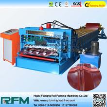 2015 heiße Verkaufsfarbe Stahl glasierte Fliese, die Maschine herstellt