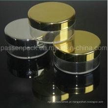 20g de plástico em pó Pó com prata ou ouro Metalizaion / Electroplate Rim (PPC-LPJ-005)