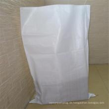 Weiße pp gewebte Tasche für Verpackung Weizenkleie