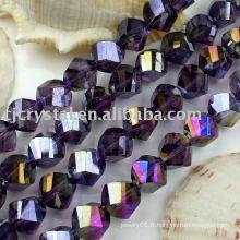 Perles en cristal de mode