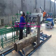 Gran escala madera motosierra cadena aserradero para la transformación de la madera