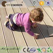 Wood plástico composto / wpc terraço madeira fusível