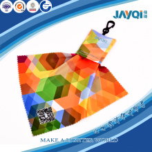 Eyegalsses Microfiber Cleaning Cloth with Keychain