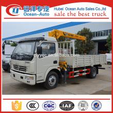 DFAC 3.2ton XCMG pequeno caminhão guindaste para venda