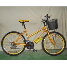 De Buena Calidad bicicleta de la mujer de la bici de montaña 18sp (FP-LDB-028)