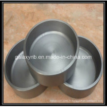 Crucible pur durable de tungstène de vente chaude