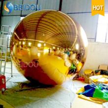 2m Espejo Decorativo Globo Oro Plata Disco Inflable Mirror Ball