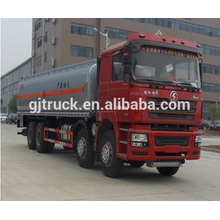 Camión de combustible Shacman 8X4 para 20-35 metros cúbicos