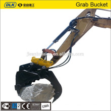 Sunward SWE110 SWE130 Hydraulic Fixed Bucket Grapple,excavator attachment grab,bucket grabble