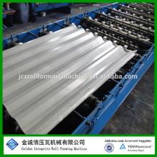 BOM PREÇO !! Máquina de formação de folhas de telhado / máquina de fabricação de folhas de telhado galvanizado