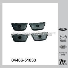 Chine Plaques de freins en céramique pour TOYOTA Corolla 04466-51030