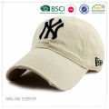 NY 3D Embroidery Sports Cap