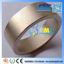 Fertigen Sie gesinterten super starken Ring SmCo Magnete besonders an
