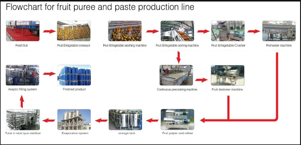 tomato paste production line