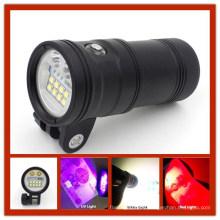 China Hersteller liefern professionelle Unterwasser LED Licht für Videokamera