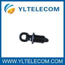 Φ32 / 26mm Fibre Optique Simplex Connecteurs en plastique vierges Accessoires en fibre optique