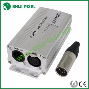 170pixels dmx à décodeur spi dmx à ws2811 décodeur led dmx décodeur
